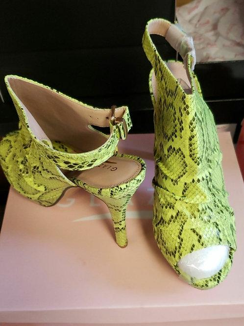 Snake  Skin Print Heel