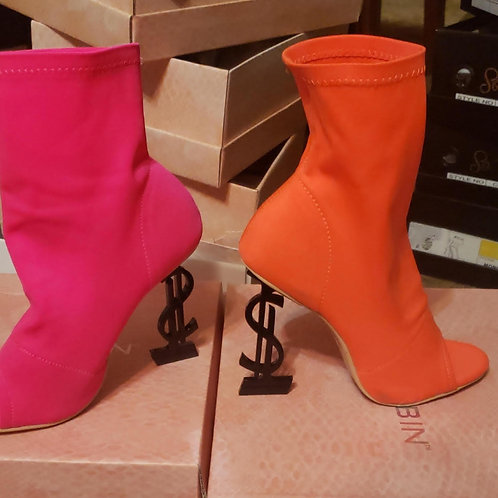 Money Talks Ankle Bootie