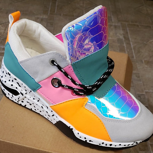 Multi-colored shoes