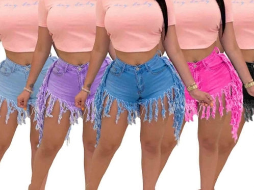 Retro Denim Hot Girl Summer Shorts