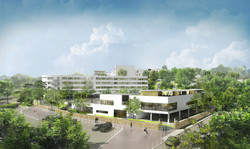 INTERSENS - LEHOUX PHILY & SAMAHA Architectes  - Groupe scolaire - St GERMAIN - Image d'Architecture