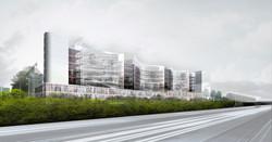 Atelier VM - Naud & Poux - Concours - Bureaux - Fresnes - image d'Architecture 3D