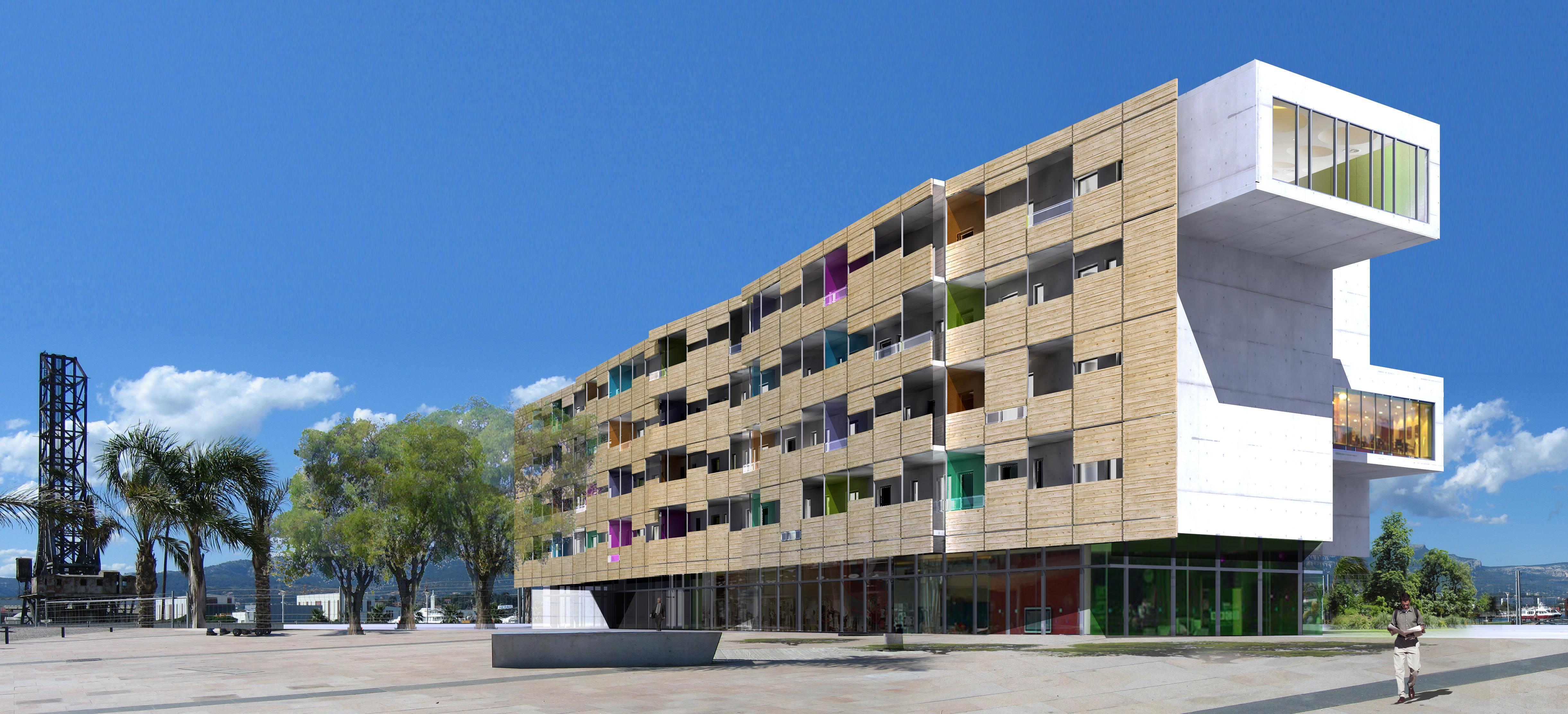 INTERSENS - JEAN-PAUL VIGUIER ARCHITECTE & CONSTRUCTA - Hotel - Concours - La Seine sur Mer