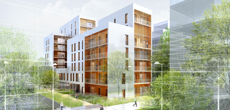 INTERSENS - Atelier Pascal GONTIER - Logements - Colombes
