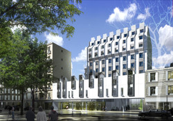 INTERSENS - BEGUIN & MACCHINI Achitectes -Logements rue Vaugirard - Paris