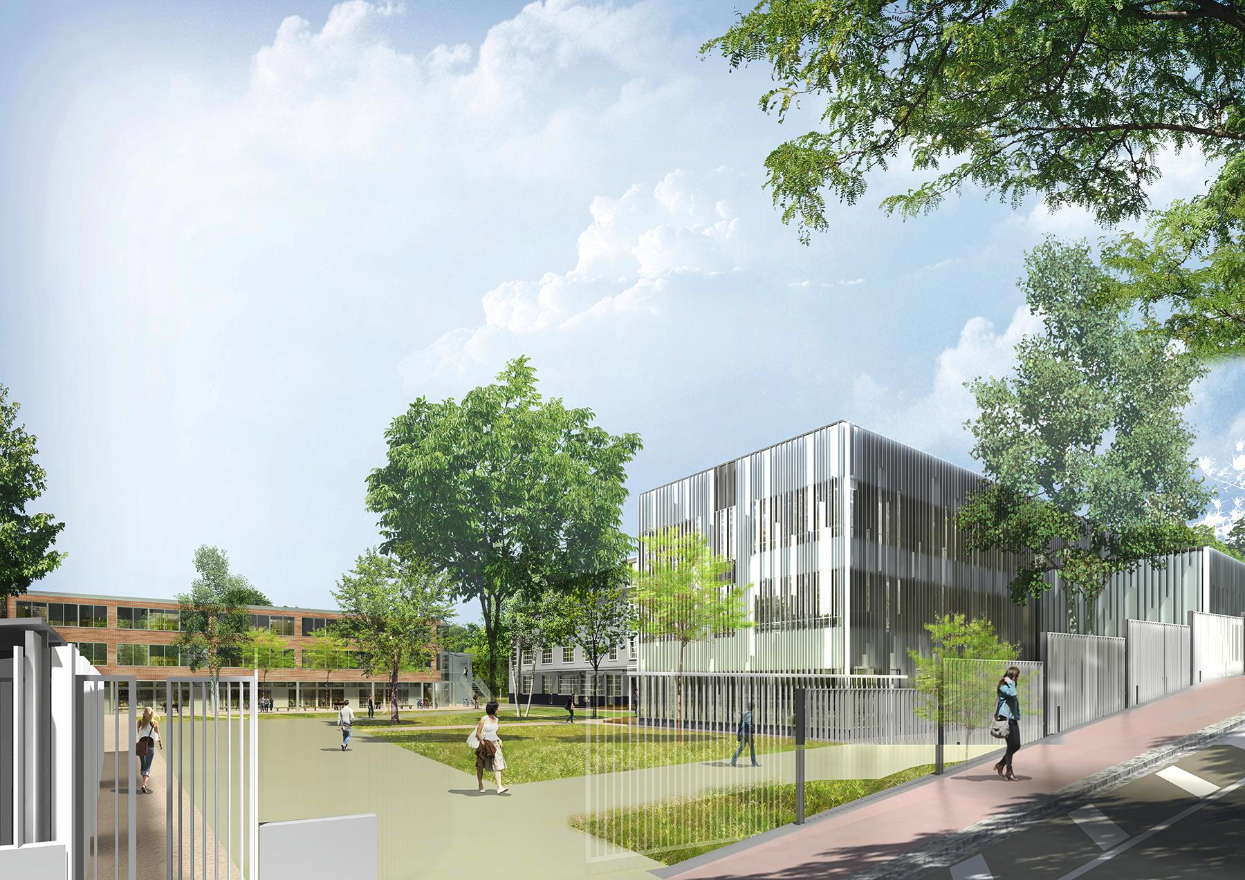 INTERSENS - BEGUIN & MACCHINI Achitectes - IUT - Avray - Image d'Architecture 3D