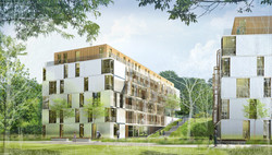 INTERSENS - Ronald Sirio Architectes - Logements étudiants - Lausane