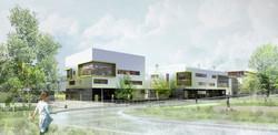 INTERSENS - LEHOUX PHILY & SAMAHA Architectes - Colombes