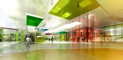 INTERSENS - Lehoux Phily & Samaha Architectes - Concours - Cité des loisirs