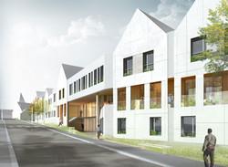 INTERSENS - MORRIS & RENAUD Architectes - Logements - Chahaignes