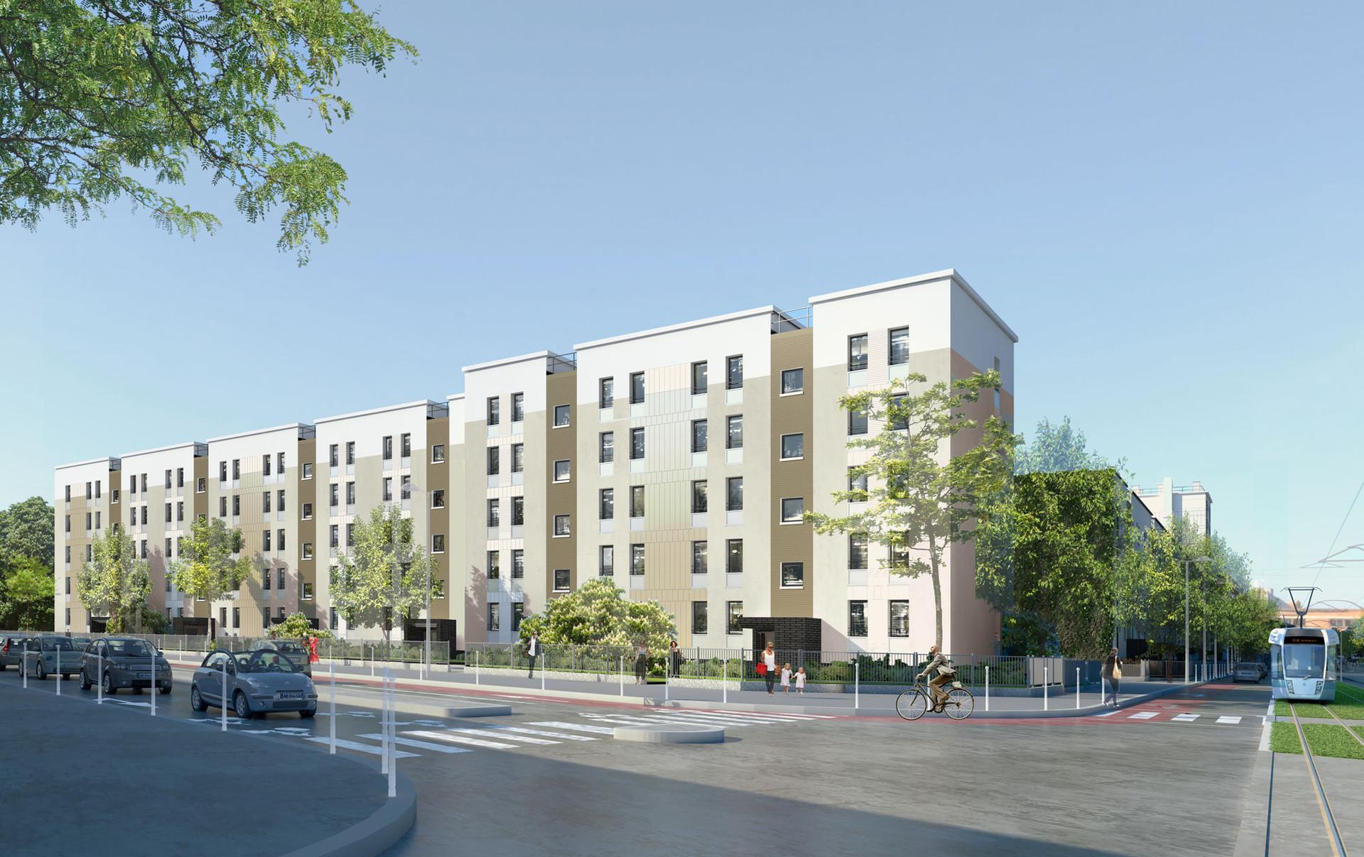 BEGUIN & MACHINNI Architectes - Logements - COLOMBES