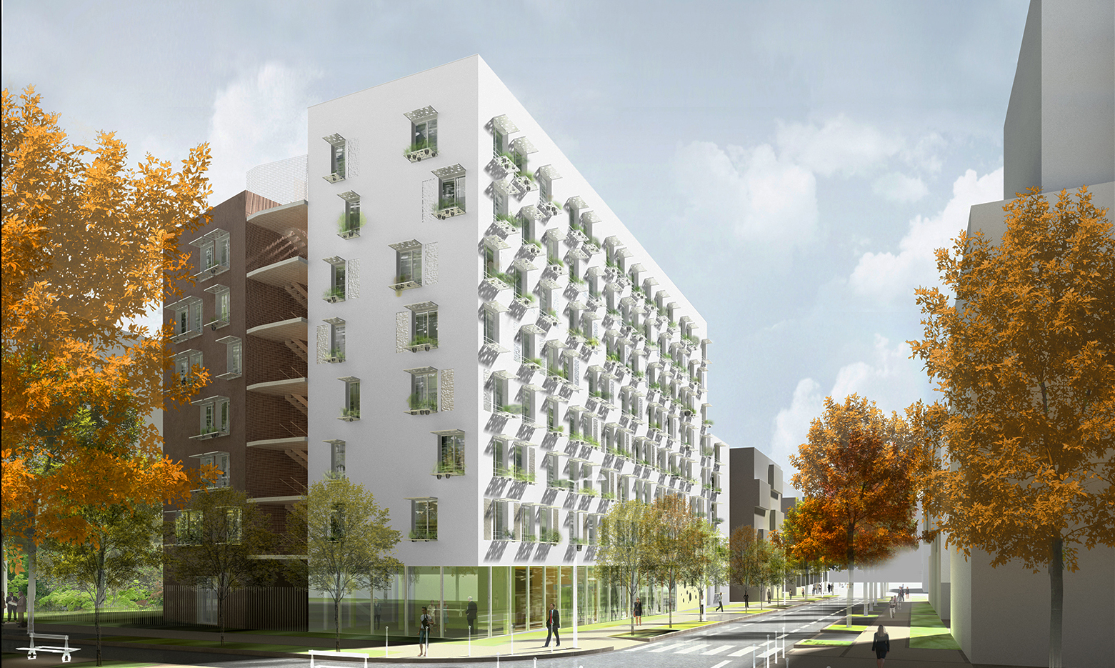 INTERSENS - Naud & Poux - Logements - Massy