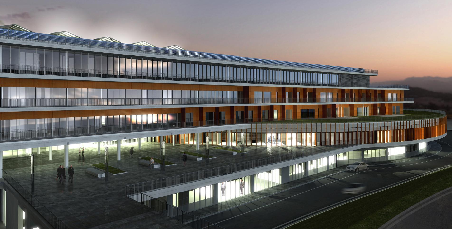 INTERSENS - JEAN-PAUL VIGUIER ARCHITECTE - Centre Hospitalier - Étude - Castres