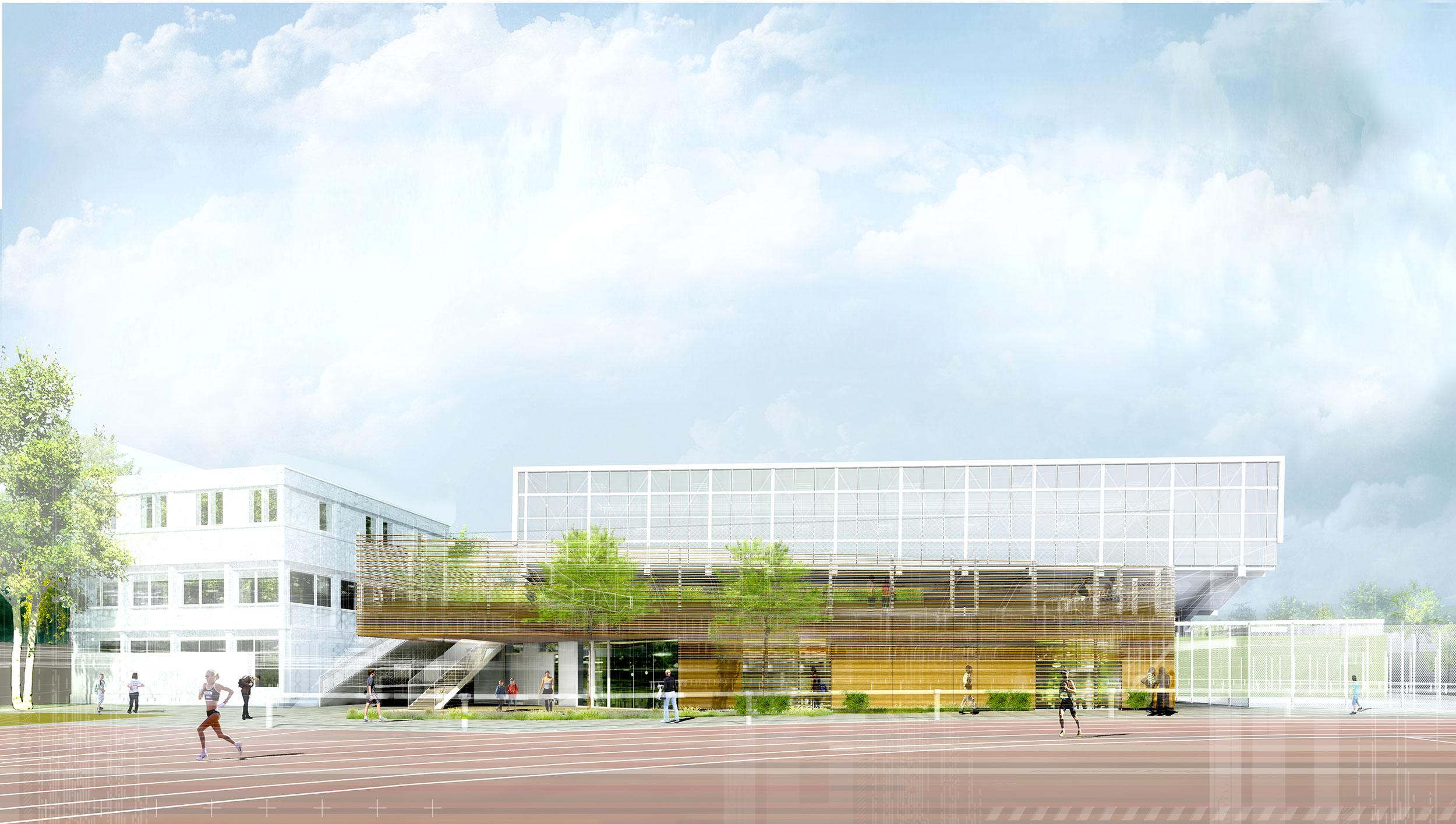 INTERSENS - BEGUIN & MACCHINI Achitectes - Centre sportif