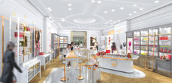 INTERSENS - L'Agence Versions - Boutique Roger & Gallet - Chine - Image d'Architecture 3D light2