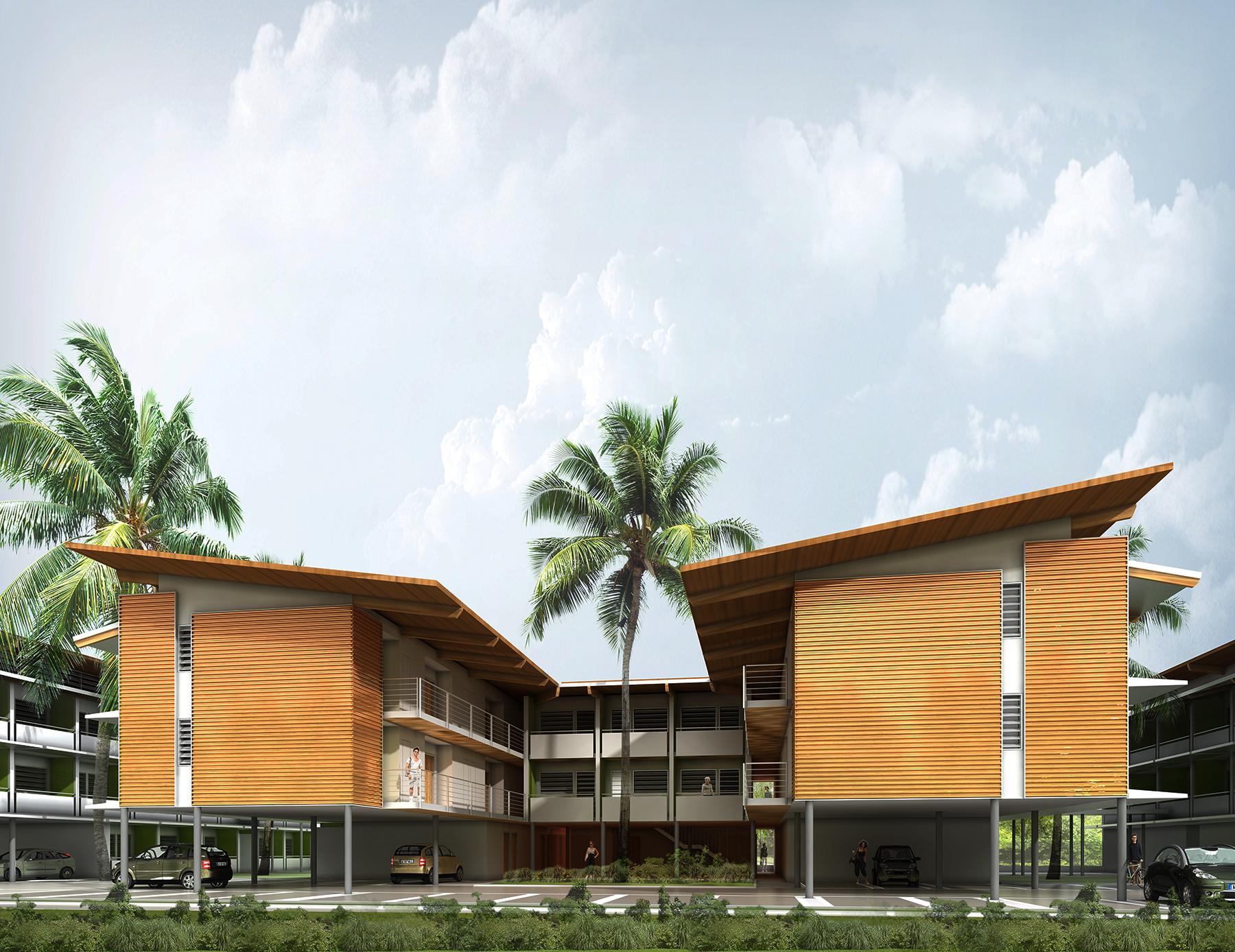 INTERSENS - COGEDIM résidences - Logements - Cayenne