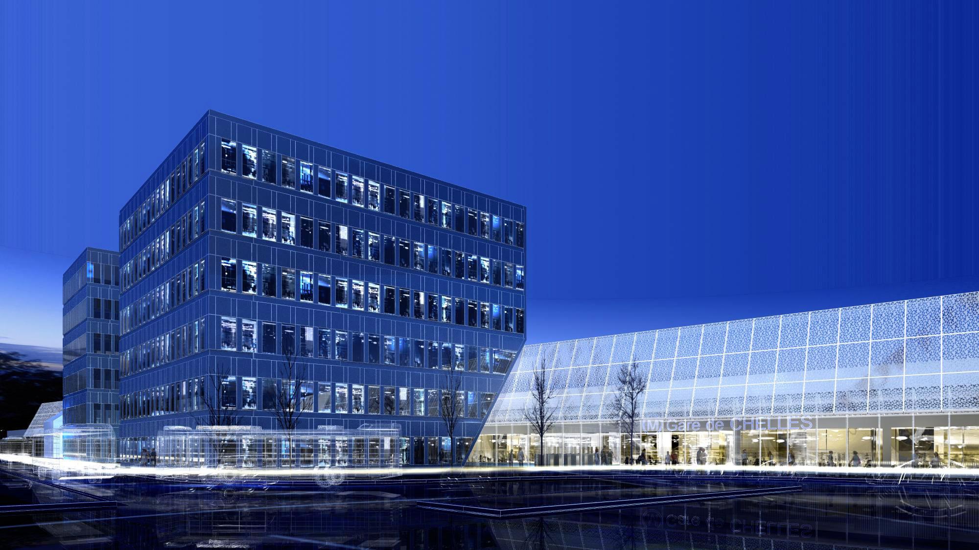 Atelier VM - BEAUDOUIN & BERGERON Architectes - Logements - Clamart - image d'Architecture 3D