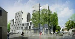 Atelier VM - BEGUIN & MACCHINI Architectes - Logements - PC - Colombes - image d'Architecture 3D