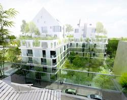 Atelier VM - Naud & Poux - Concours - Logements - Colombes - Image d'Architecture 3D (2)