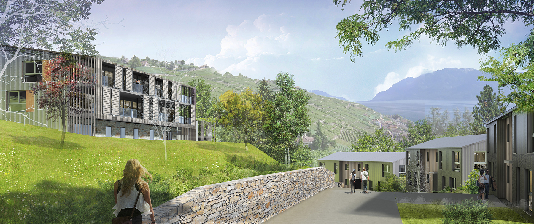 INTERSENS - AAG+ - Logements étudiants - Lutry (Suisse)
