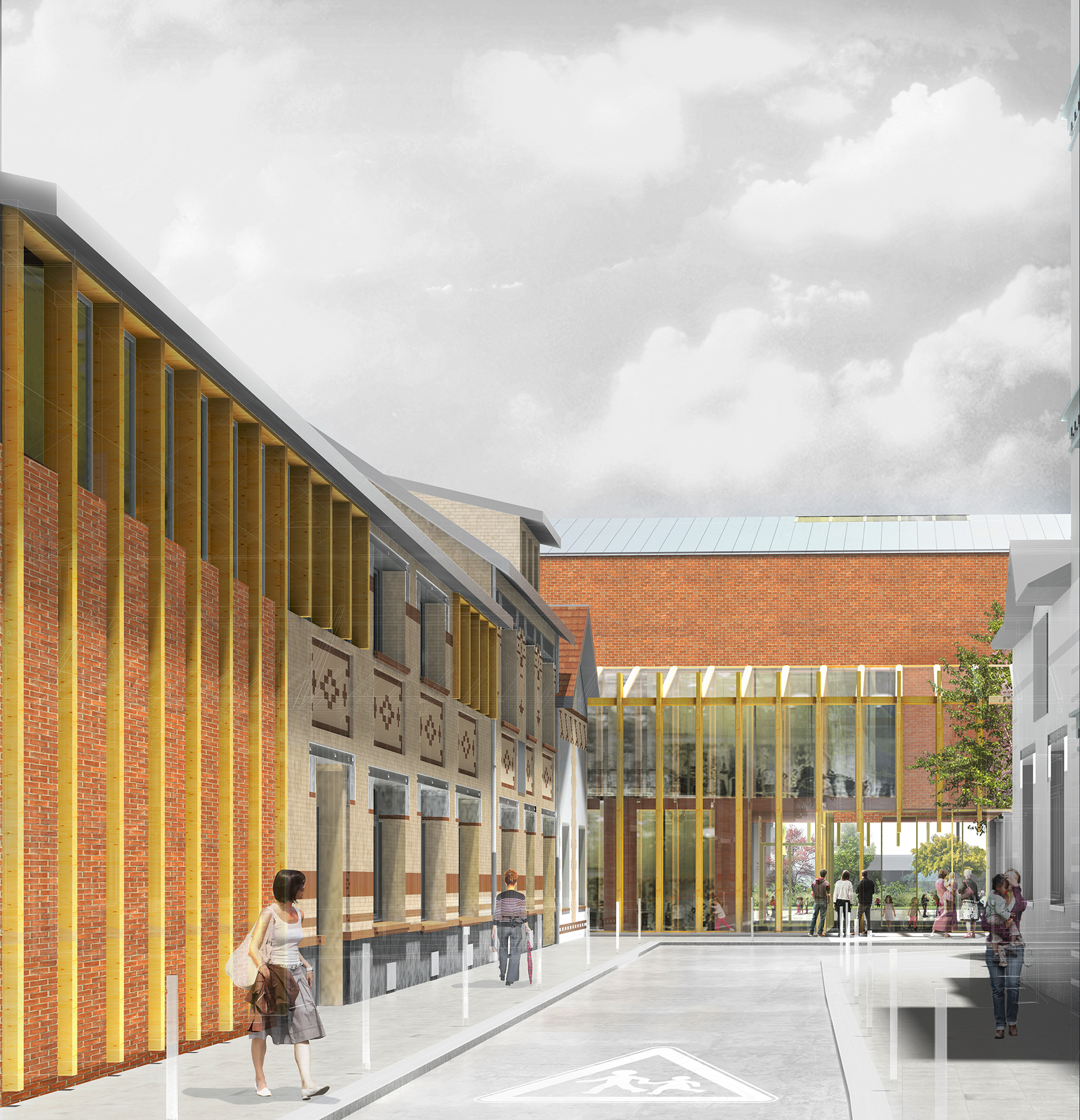 INTERSENS - Fabienne BULLE Architectes - Groupe Scolaire - SAINT OUEN
