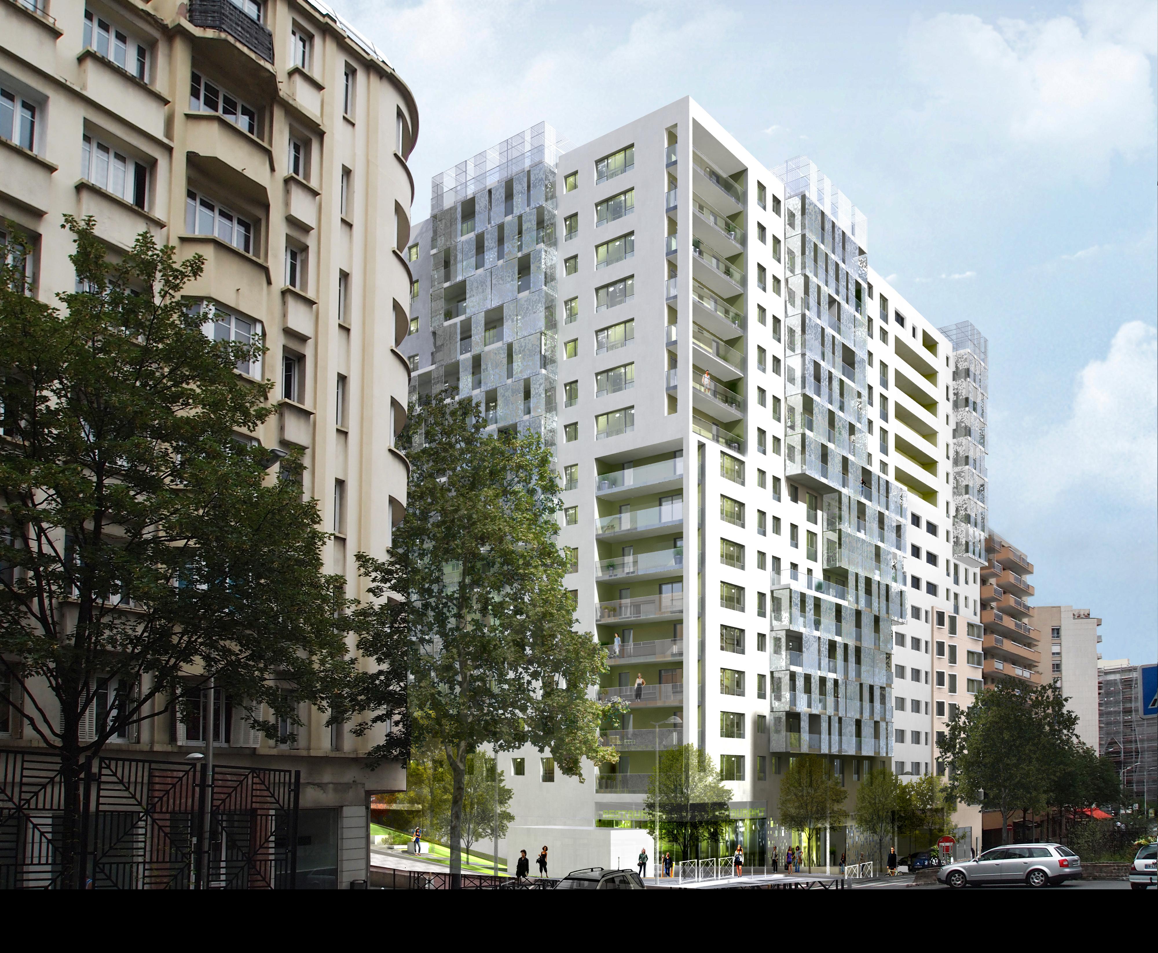 INTERSENS - COGEDIM résidences - Logements - Courbevoie