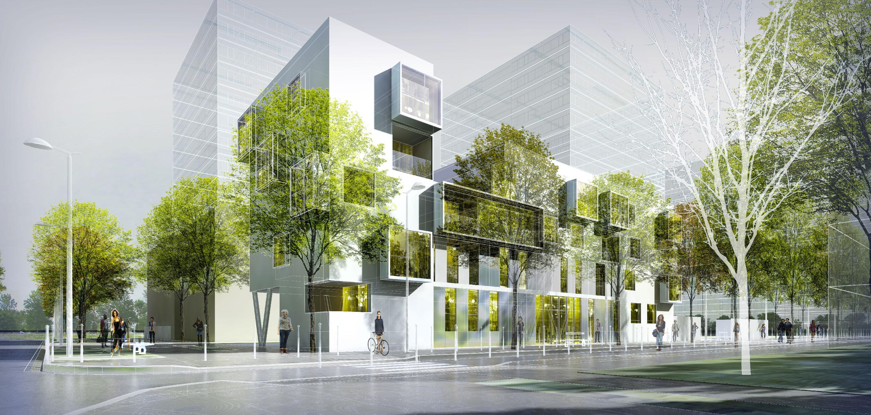 INTERSENS - BEGUIN & MACHINNI - Concours - Logements - Villeneuve La Garenne