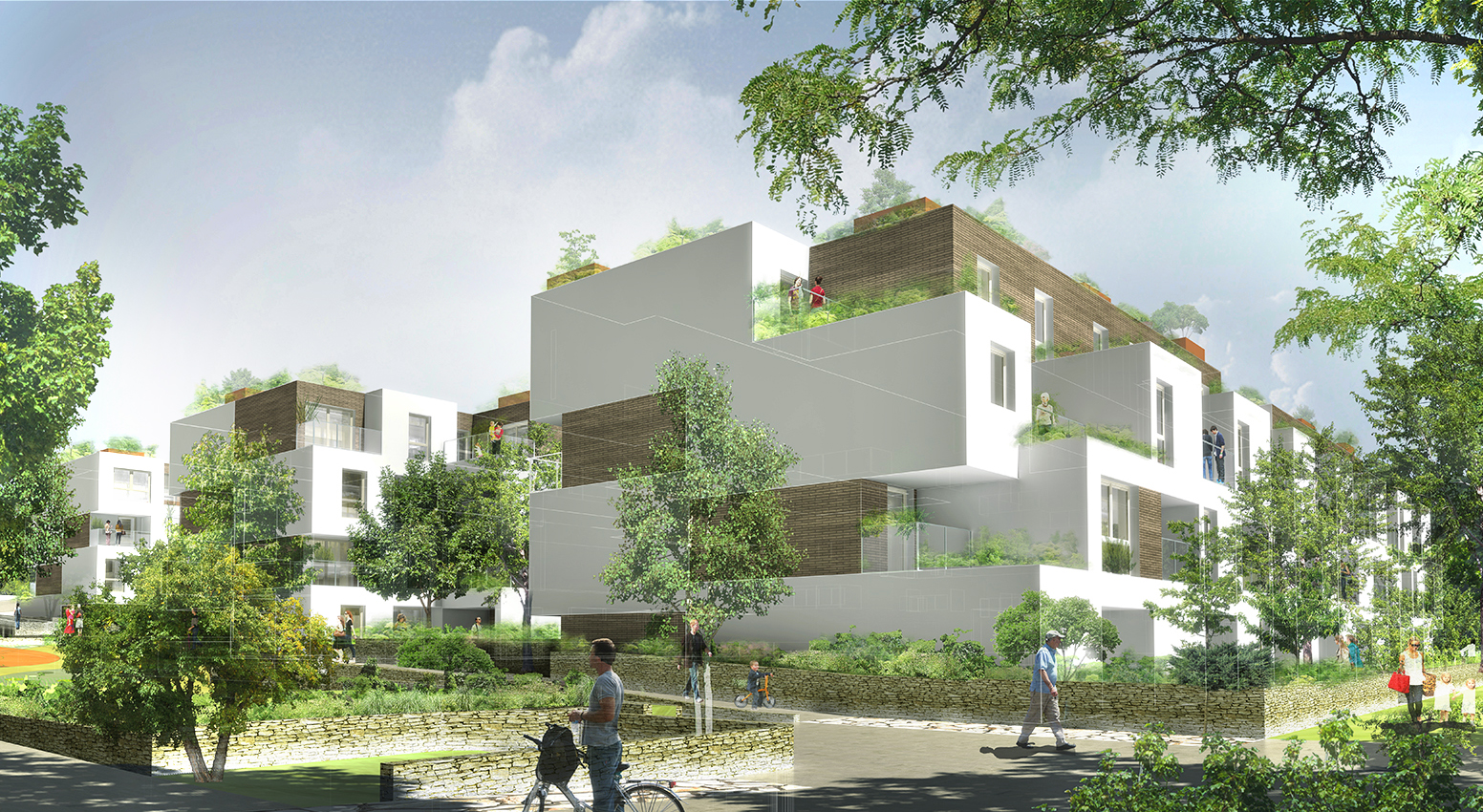 INTERSENS -David NADO Architecte - Logements - Houilles