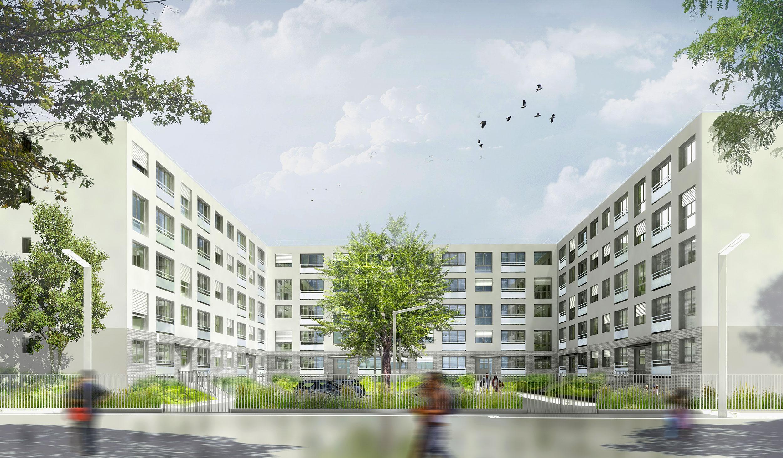 INTERSENS - BEGUIN & MACCHINI Achitectes - Logements - Goussainville