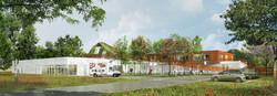 INTERSENS - GA Architecture - Ecole primaire - Coueron - Image d'Architecture 3D (2)