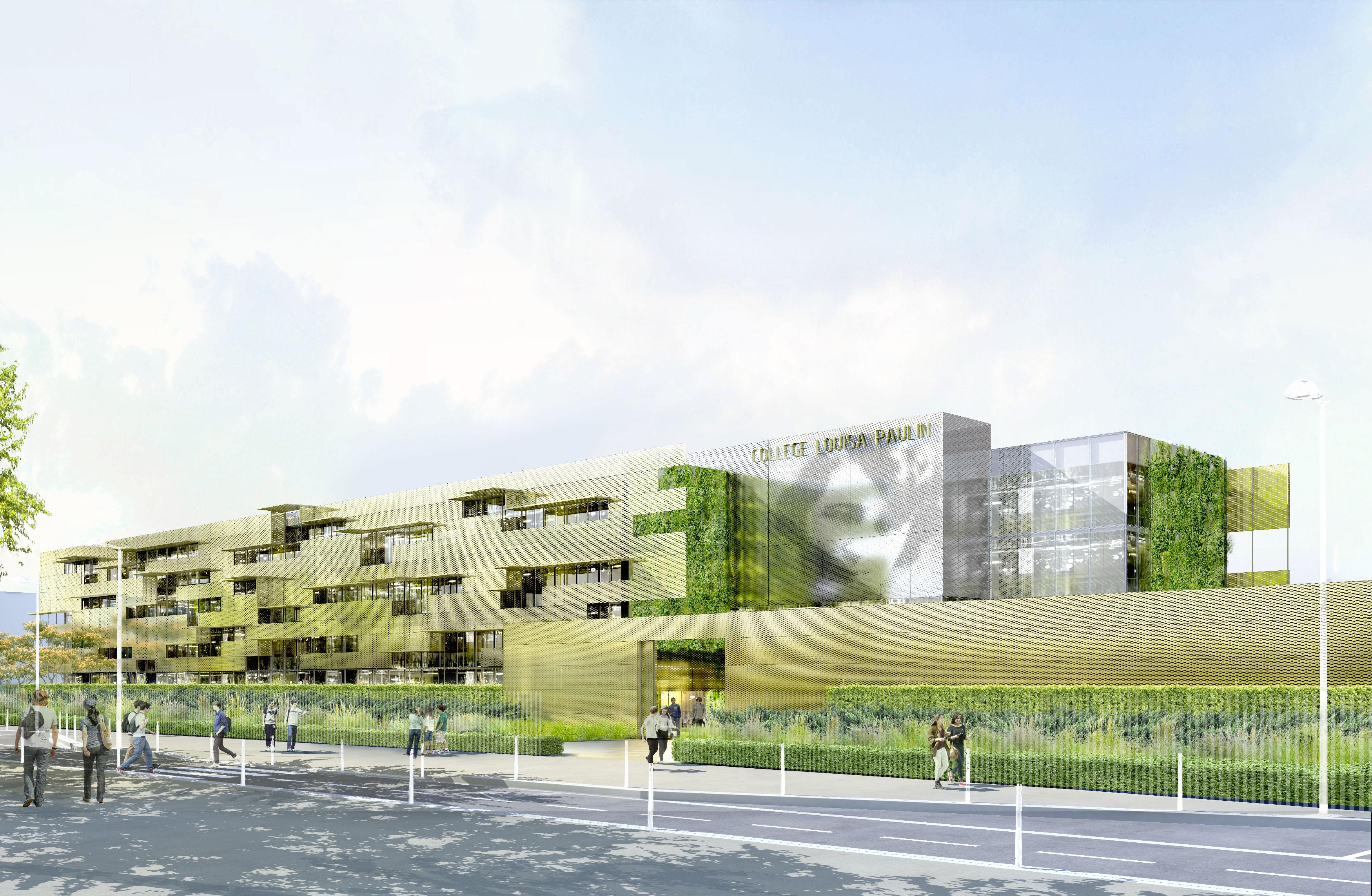 INTERSENS - Fabienne BULLE Architecte - Collège - Muret