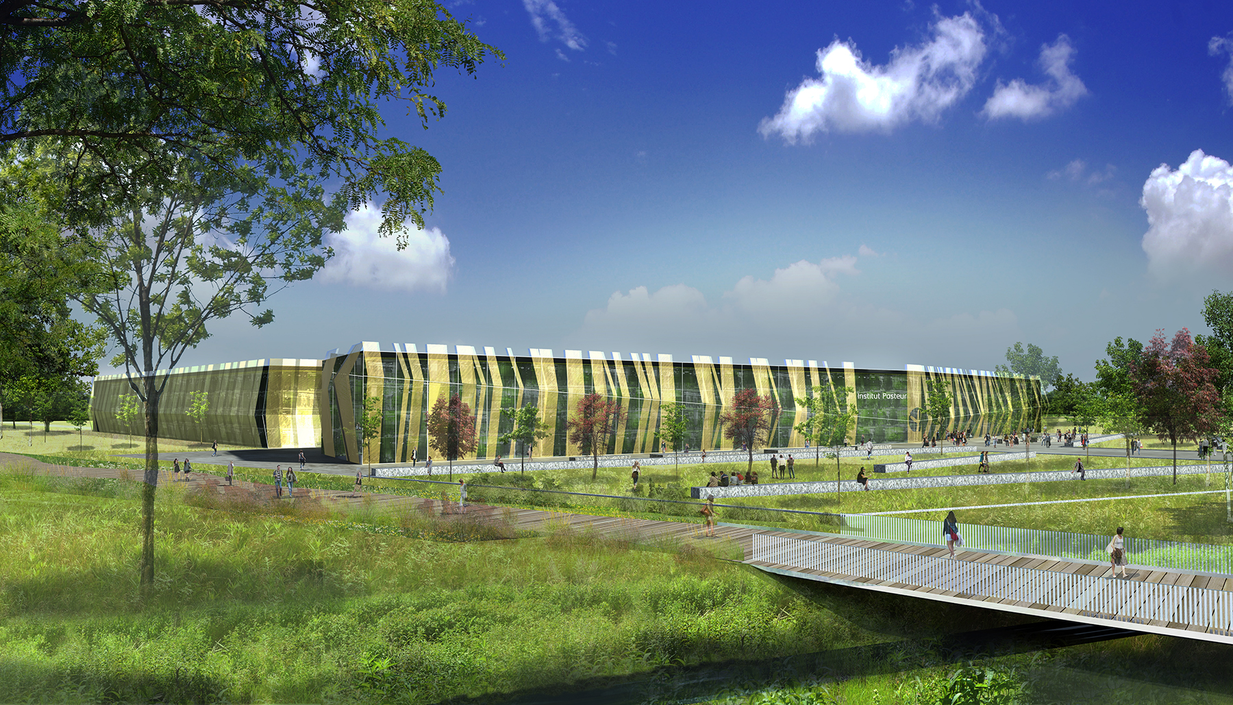 INTERSENS - AFE Architecture - Rubicube - Saclay - Image d'Architecture 3D