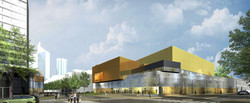 INTERSENS - LEHOUX PHILY & SAMAHA Architectes - Gymnase - Courbevoie - Image d'Architecture 3D