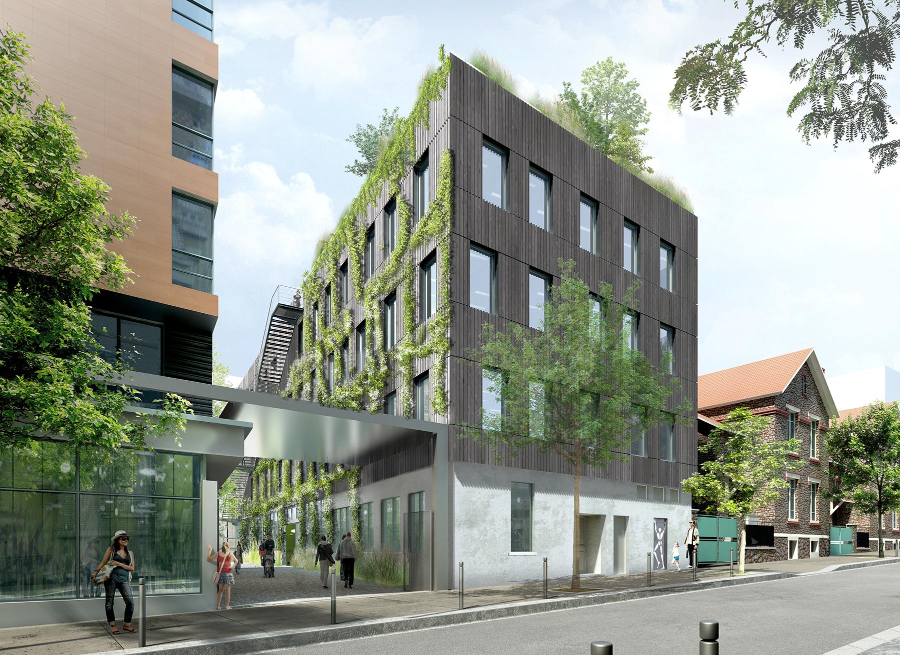 INTERSENS - PY Architecture - Logements rue Dutot - Montreuil