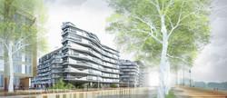 Atelier VM - Naud & Poux - Concours - Logements - Paris Henri IV - image d'Architecture 3D