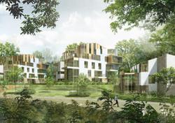 INTERSENS - BEGUIN & MACCHINI Architectes - Logements - PC - Meudon
