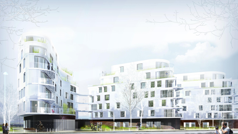 INTERSENS - Naud & Poux - Concours - Logements - Paris 19e