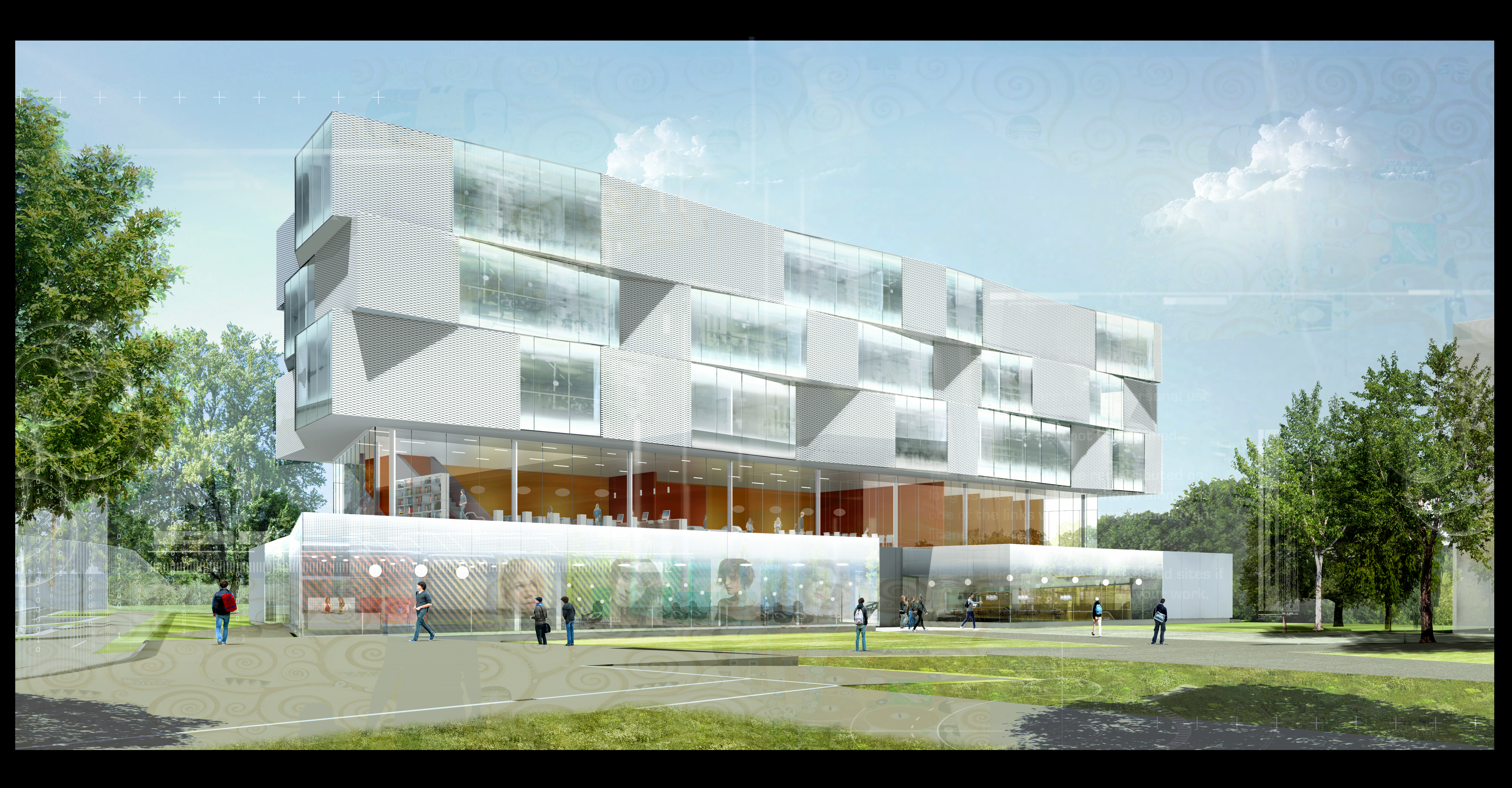 Atelier VM - Lehoux Phily & Samaha Architectes - Groupe Scolaire - Concours - Argenteuil - image d'A