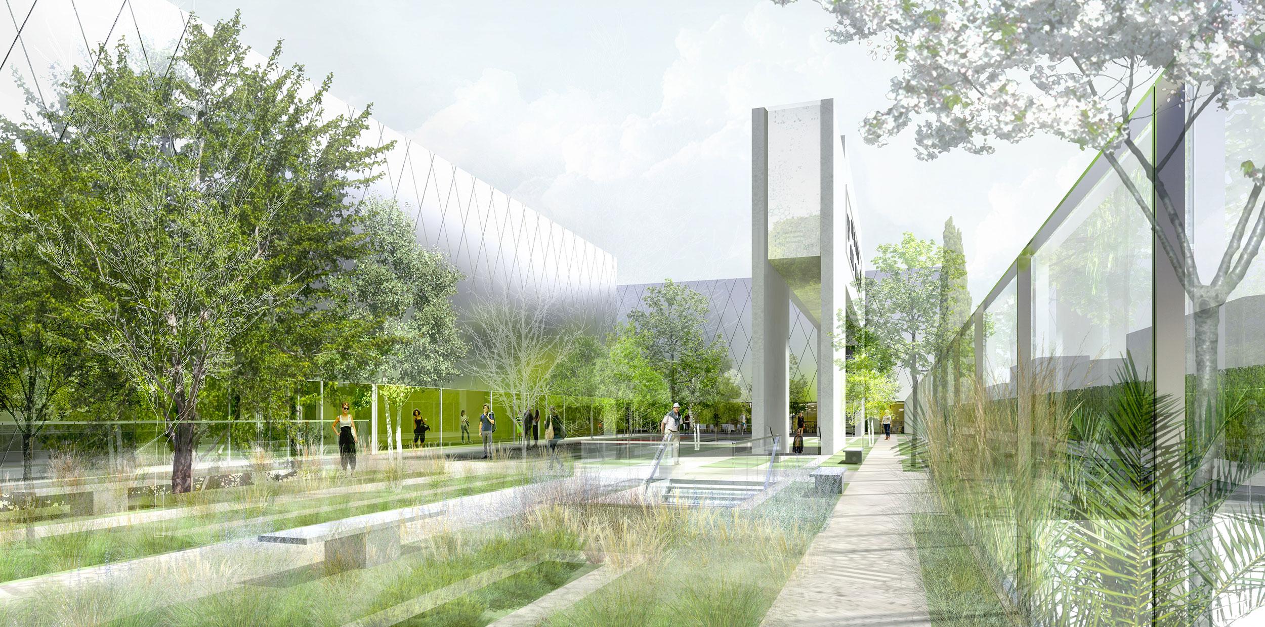 Atelier VM - Lehoux Phily & Samaha - Concours - Centre Culturel et Sportif - Courbevoie - Image d'Ar