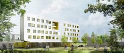 INTERSENS - Lehoux Phily & Samaha Architectes - Extension de la faculté des Sciences - MIM & LEM - M