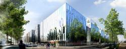 INTERSENS - Groupe EIFFAGE - Concours - Bureaux - Strasbourg.