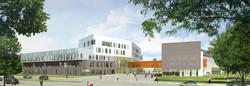 INTERSENS - LEHOUX PHILY & SAMAHA Architectes - Campus université de Lorraine - Nancy