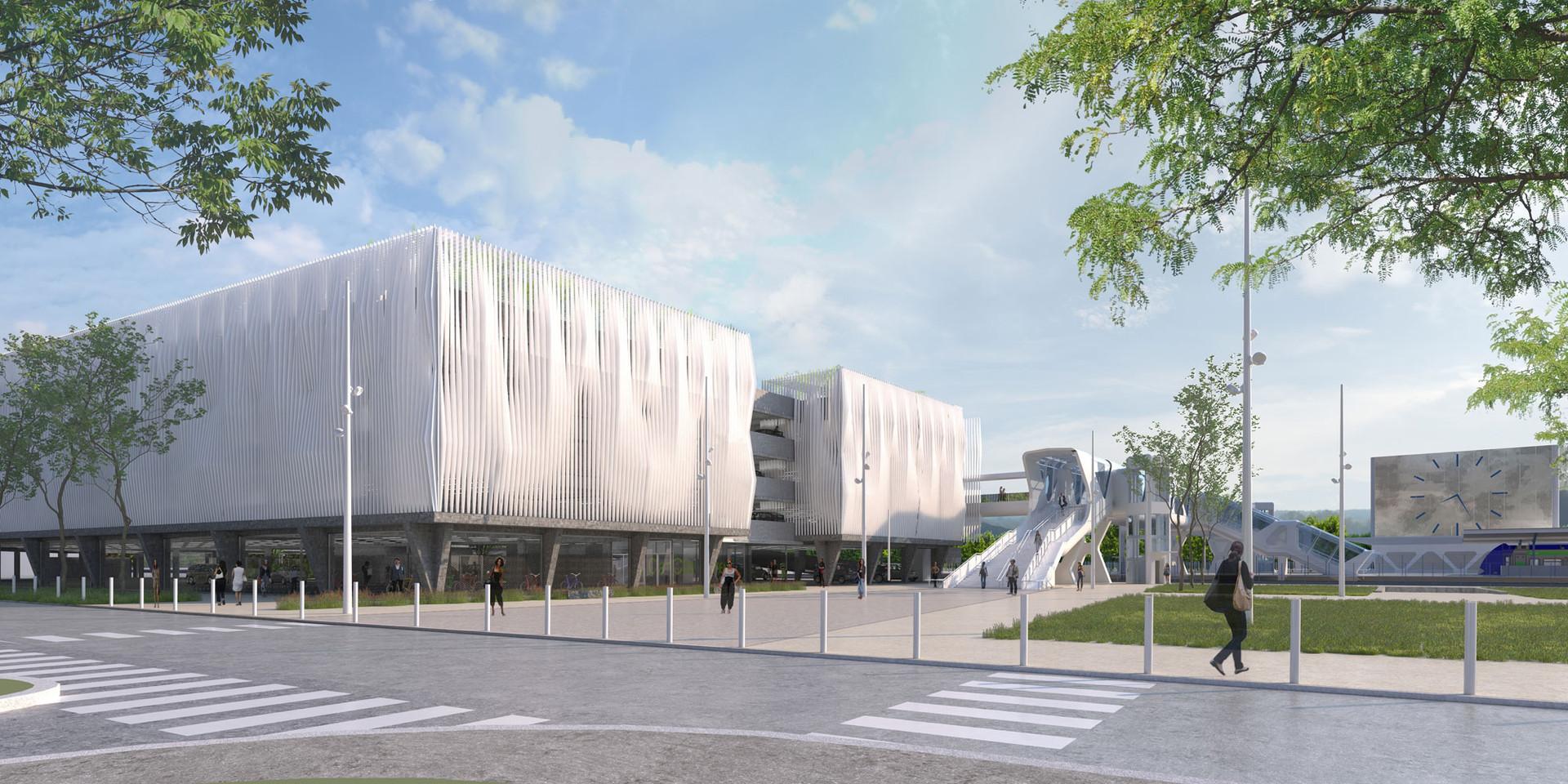 SCHALL Architectes - Parking - HAGUENEAU