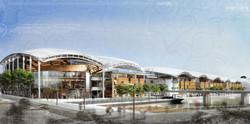 INTERSENS - JEAN-PAUL VIGUIER ARCHITECTE - Centre Commercial Lyon Confluence - PC - Lyon