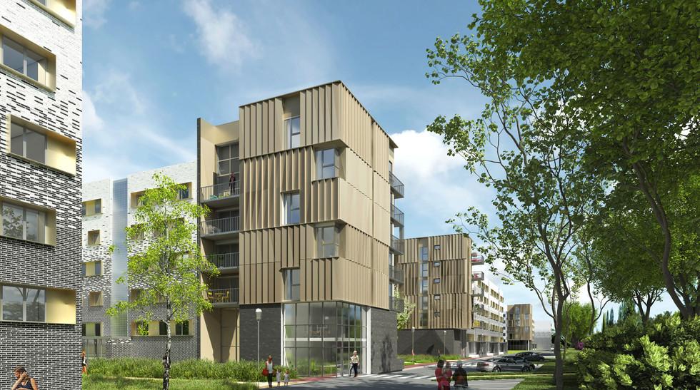 BEGUIN & MACHINNI Architectes - Logements - réhabilitation -ST CYR