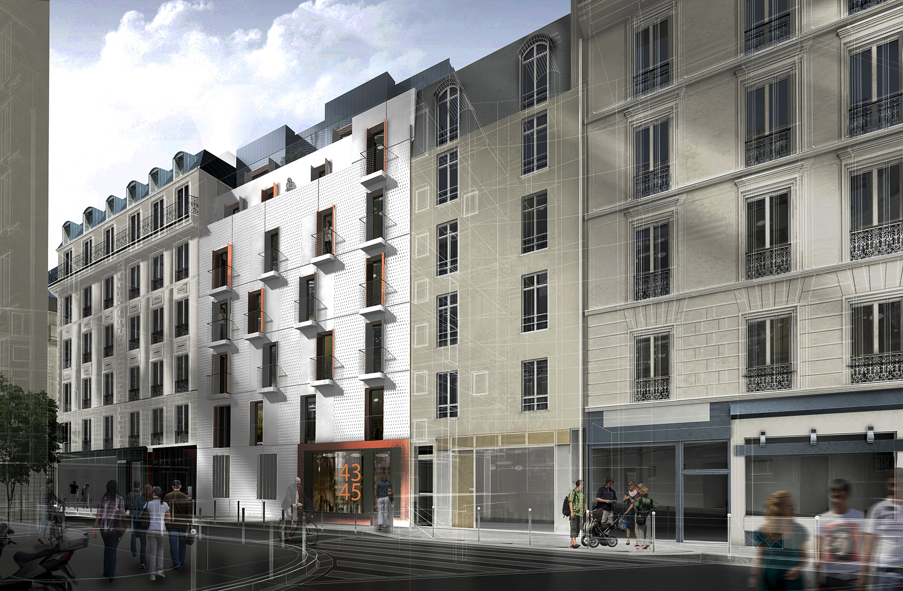 INTERSENS - BEAUDOUIN & BERGERON - Logements - Davy