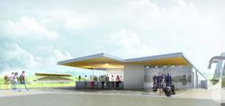 Atelier VM - BEGUIN & MACCHINI Achitectes - Vestiaires - Montivillier - Image d'Architecture 3D