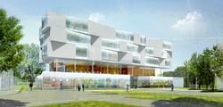 INTERSENS - Lehoux Phily & Samaha Architectes - Groupe Scolaire - Concours - Argenteuil