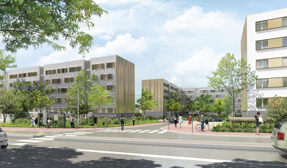BEGUIN & MACHINNI Architectes - Logements - ST CYR