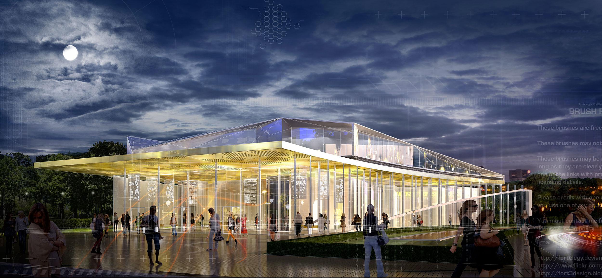 INTERSENS - LAURENT-FOURNET Architecte - Salle de Spectacle - Concours-Lauréat - Montevrain
